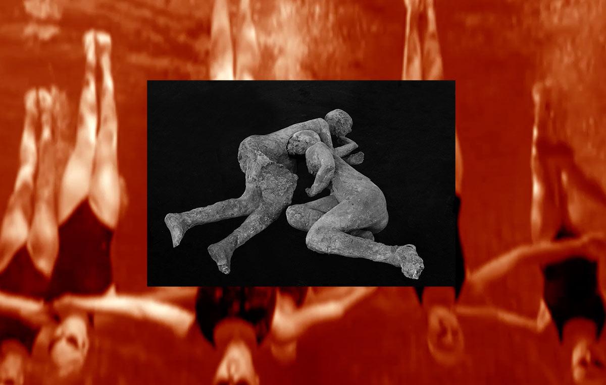 Bodies of Pompeji, Found-Footage-Videocollage, 2018, Dominik Geis