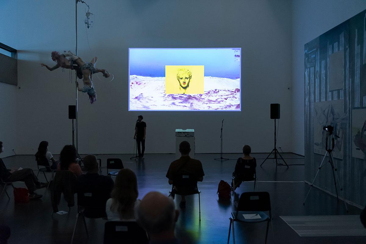 neon grey, Kunsthalle Düsseldorf, 2021, Dominik Geis
