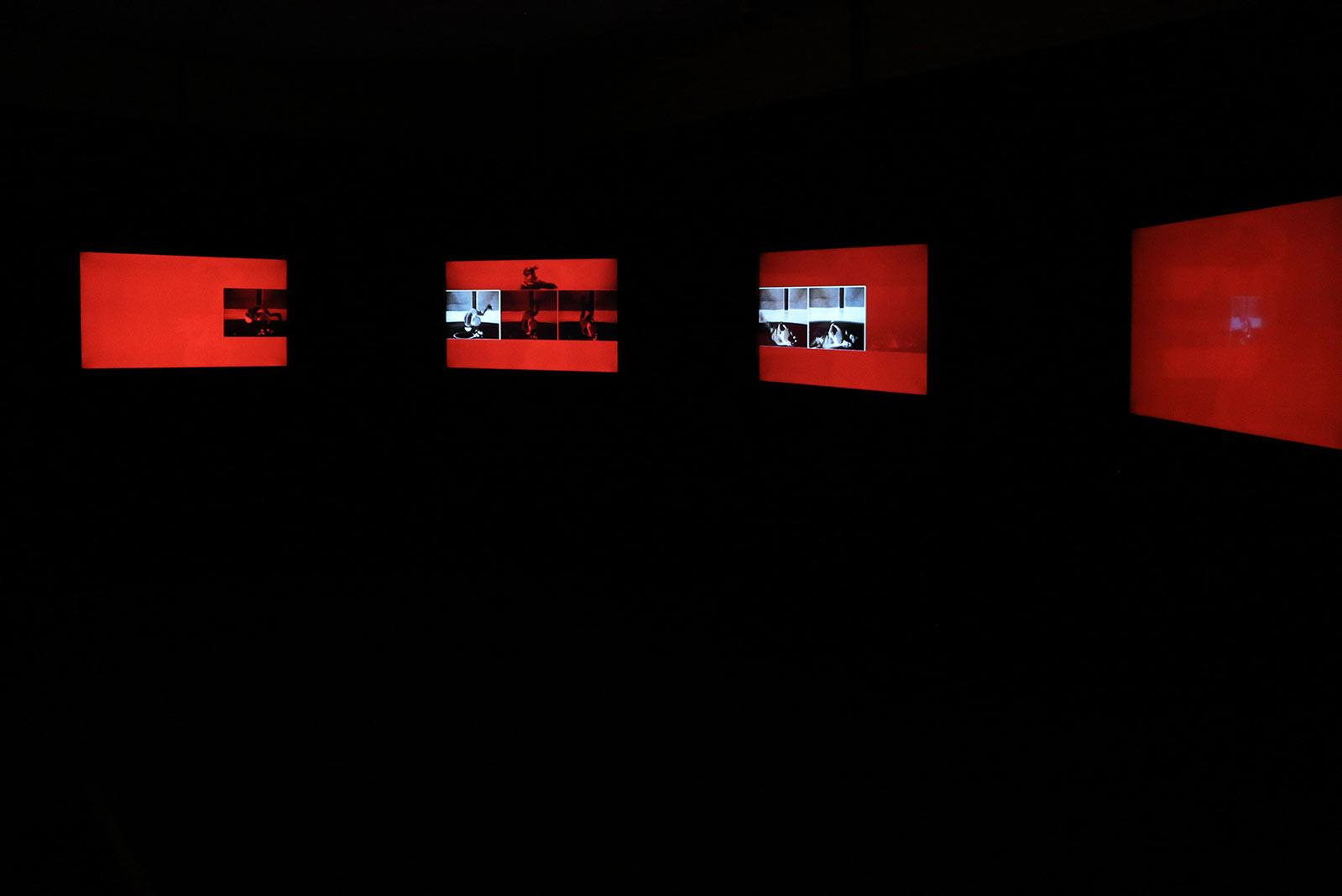 pulse, 7-Kanal-Found-Footage-Videocollage, 2019, Dominik Geis