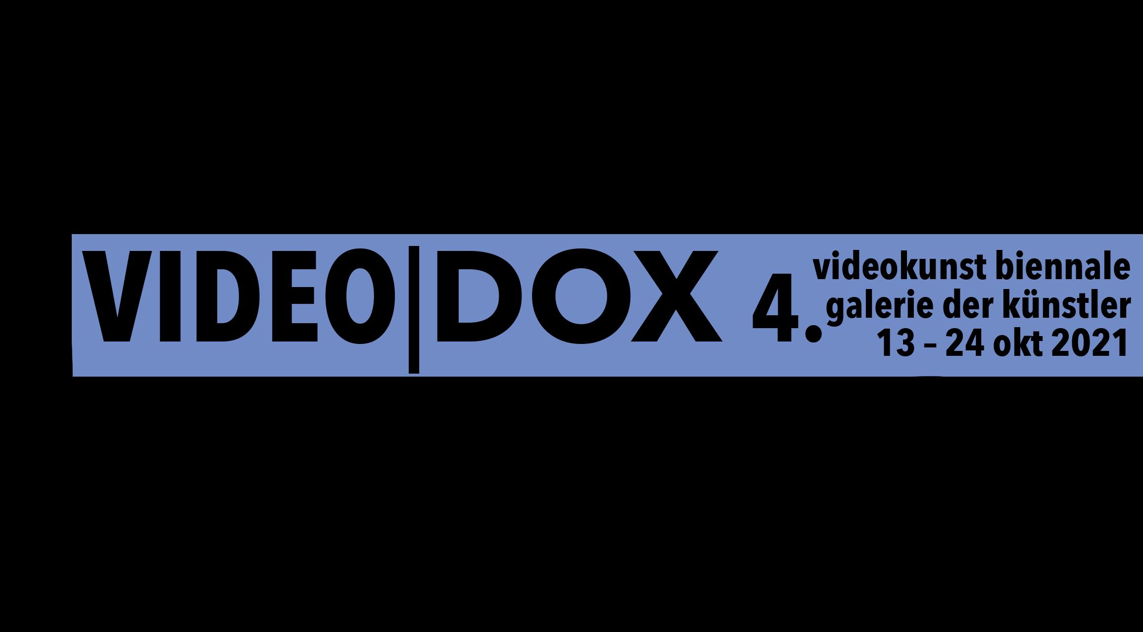 Videodox 2021 – Biennal Exposition for Video Art from Bavaria