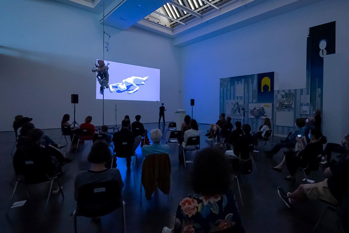 neon grey, Kunsthalle Düsseldorf, 2021, Domink Geis