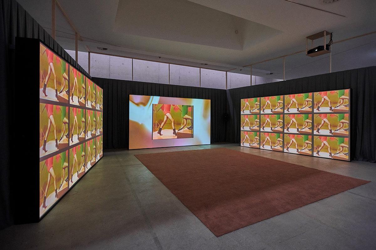 the beauty of it, Ausstellungsansicht, KIT - Kuns im Tunnel, 2018, Dominik Geis